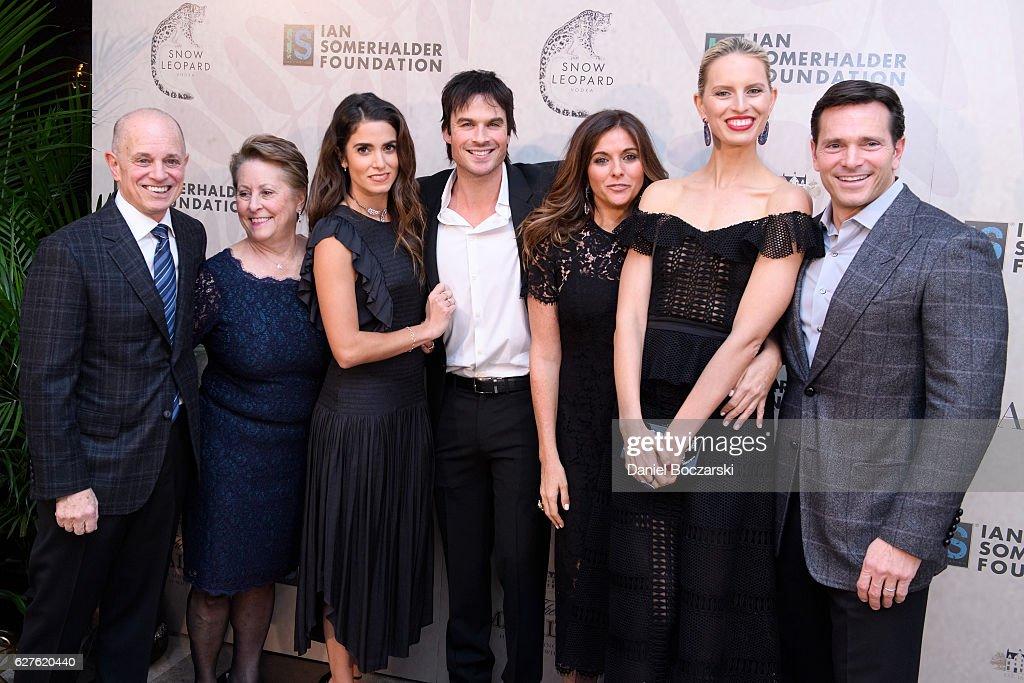 Nikki Reed and Ian Somerhalder attend Ian Somerhalder Foundation Benefit Gala at Galleria Marchetti on December 3, 2016 in Chicago, Illinois.