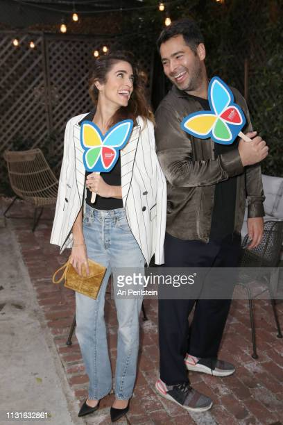 Nikki Reed and Jonathan Simkhai attend Jonathan Simkhai Supports Children's Hospital LA Make March Matter on March 19 2019 in West Hollywood...