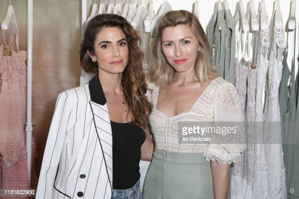 Nikki Reed and Lindsey Dupuis Bledsoe attend Jonathan Simkhai Supports Children's Hospital LA Make March Matter on March 19 2019 in West Hollywood...