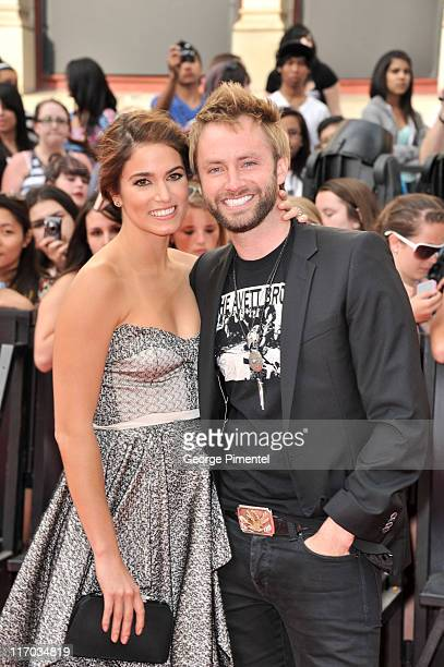 Nikki Reed and Paul McDonald arrive on the red carpet at the 22nd Annual MuchMusic Video Awards at the MuchMusic HQ on June 19 2011 in Toronto Canada