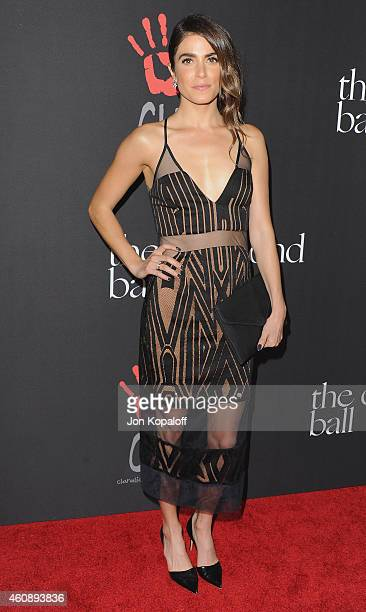 Nikki Reed arrives at Rihanna's First Annual Diamond Ball at The Vineyard on December 11 2014 in Beverly Hills California