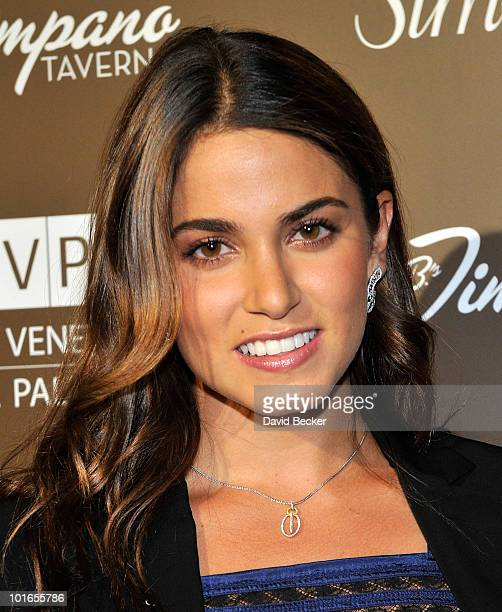 Nikki Reed arrives at the Simon G Jewelry Summer Soiree event benefiting Global Green USA at The Venetian Resort Hotel Casino June 5 2010 in Las...