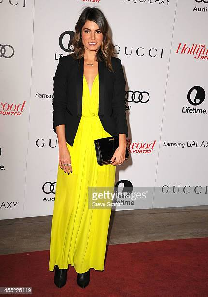 Nikki Reed arrives at the The Hollywood Reporter's Women In Entertainment Breakfast Honoring Oprah Winfrey at Beverly Hills Hotel on December 11,...