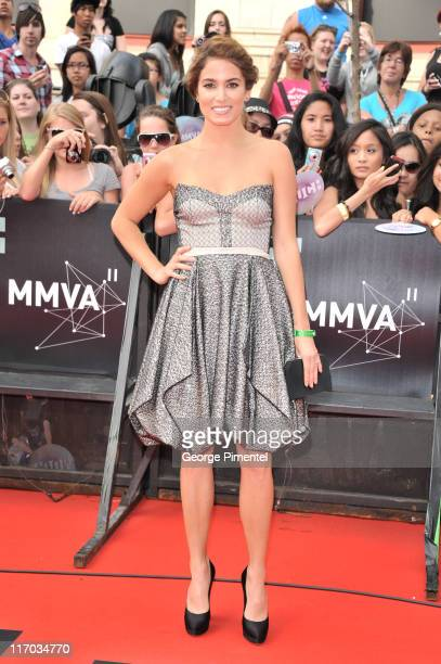 Nikki Reed arrives on the red carpet of the 22nd Annual MuchMusic Video Awards at the MuchMusic HQ on June 19 2011 in Toronto Canada
