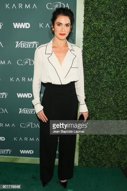 Nikki Reed arrives to the Council of Fashion Designers of America luncheon held at Chateau Marmont on February 20 2018 in Los Angeles California