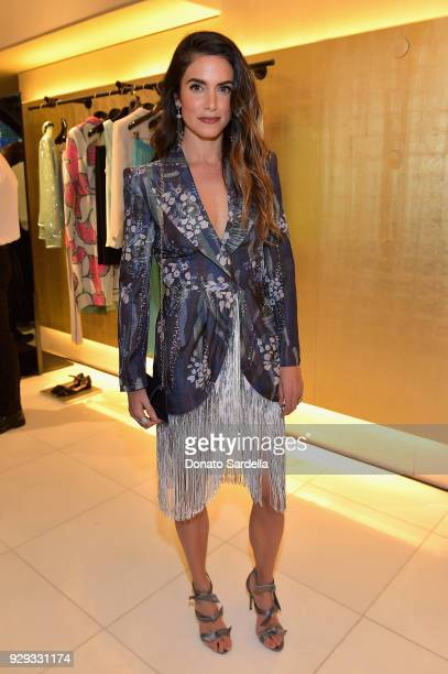 Nikki Reed attends Giorgio Armani's celebration of 'The Shape of Water' hosted by Roberta Armani on March 3 2018 in Beverly Hills California