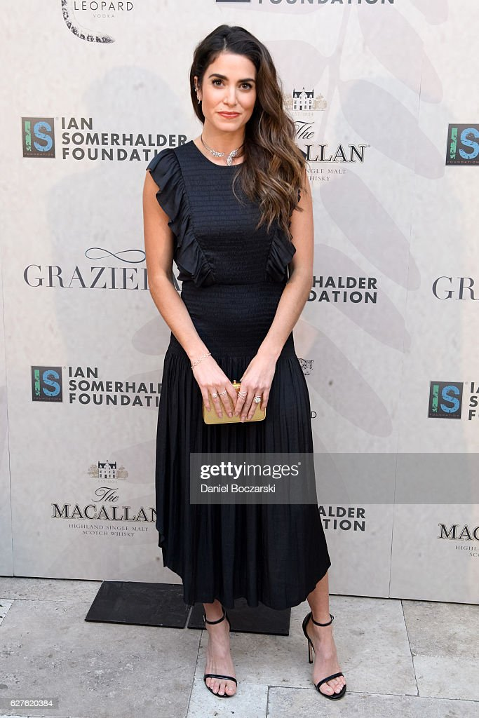Nikki Reed attends Ian Somerhalder Foundation Benefit Gala at Galleria Marchetti on December 3, 2016 in Chicago, Illinois.