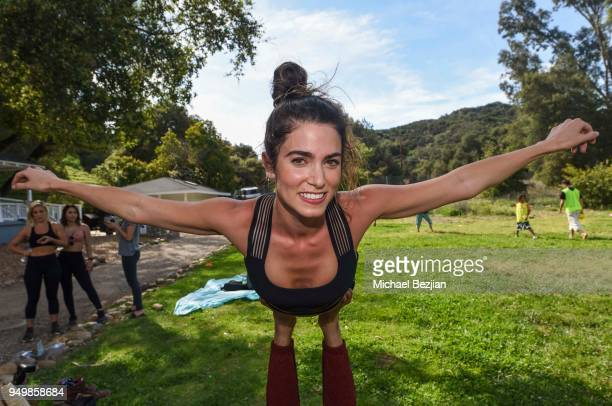 Nikki Reed attends Imagine Fest Yoga and Music Festival 2018 on April 21 2018 in Agoura Hills California