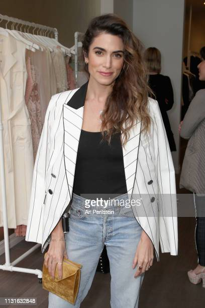 Nikki Reed attends Jonathan Simkhai Supports Children's Hospital LA Make March Matter on March 19 2019 in West Hollywood California