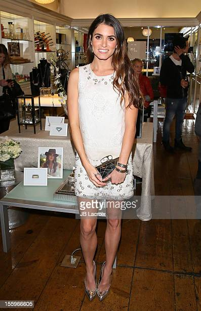 Nikki Reed attends 'Mattlin Era' by Nikki Reed trunk show held at Fred Segal on November 9 2012 in West Hollywood California