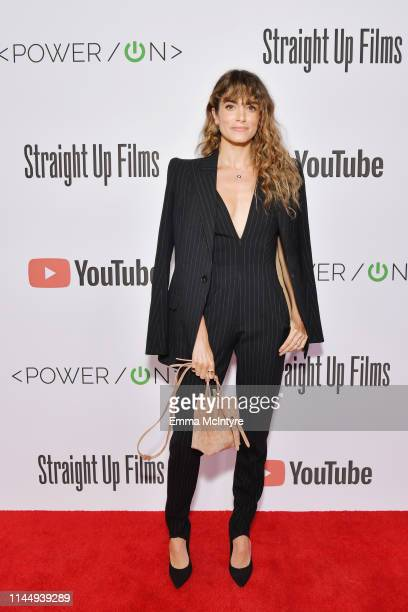 Nikki Reed attends Power On Premiere By Straight Up Films With Support From YouTube at Google Playa Vista Office on April 24 2019 in Playa Vista...