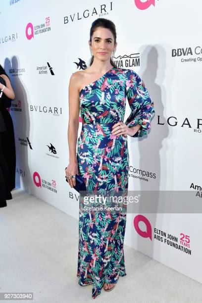 Nikki Reed attends the 26th annual Elton John AIDS Foundation Academy Awards Viewing Party sponsored by Bulgari celebrating EJAF and the 90th Academy...