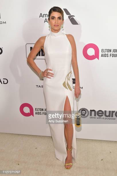 Nikki Reed attends the 27th annual Elton John AIDS Foundation Academy Awards Viewing Party celebrating EJAF and the 91st Academy Awards on February...