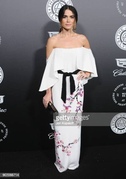 Nikki Reed attends The Art Of Elysium's 11th Annual Celebration Heaven at Barker Hangar on January 6 2018 in Santa Monica California