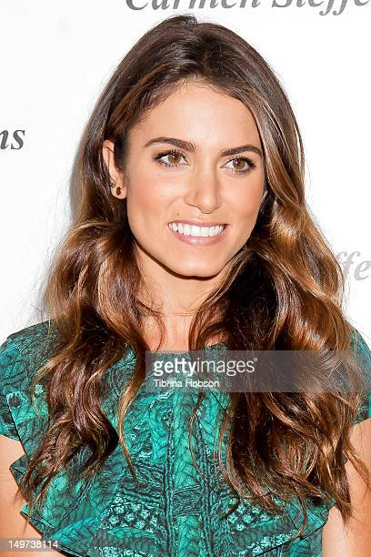 Nikki Reed attends the Carmen Steffens U.S. West coast flagship store opening at Hollywood & Highland Center on August 2, 2012 in Hollywood,...