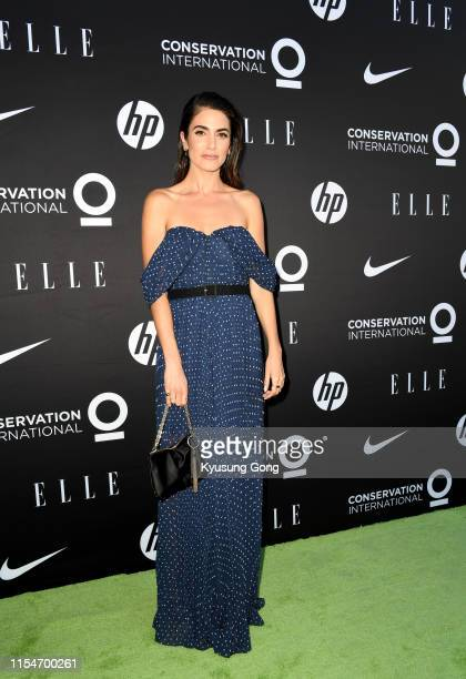 Nikki Reed attends the Conservation International ELLE Los Angeles Gala at Milk Studios on June 08 2019 in Hollywood California