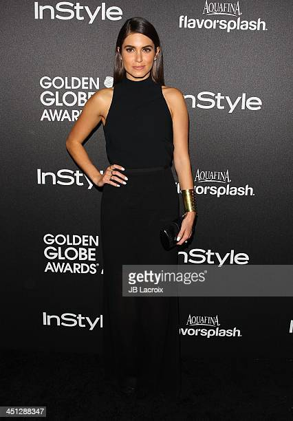 Nikki Reed attends the Hollywood Foreign Press Association And InStyle 2014 Miss Golden Globe Announcement / Celebration at Fig Olive Melrose Place...