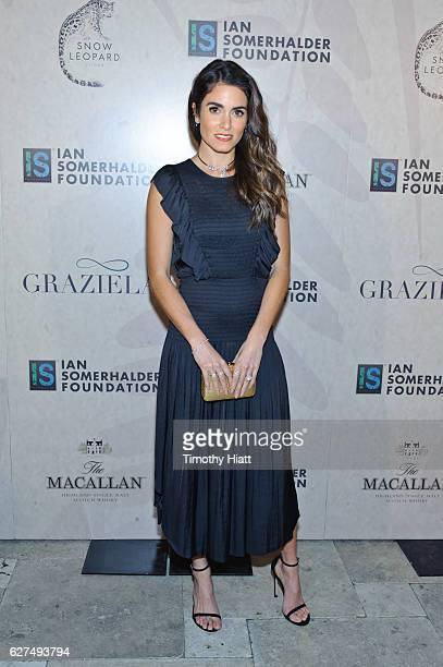 Nikki Reed attends the Ian Sumerhalder Foundation Benefit Gala at Galleria Marchetti on December 3 2016 in Chicago Illinois