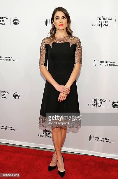 Nikki Reed attends the premiere of 'Murder of a Cat' during the 2014 Tribeca Film Festival at SVA Theater on April 24 2014 in New York City