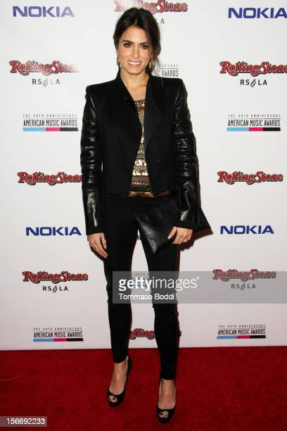 Nikki Reed attends the Rolling Stone after party for the 2012 American Music Awards presented by Nokia and Rdio held at the Rolling Stone Restaurant...