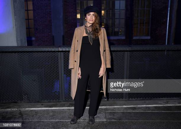 Nikki Reed attends the screening of the rag bone film Time Of Day at The High Line on September 10 2018 in New York City