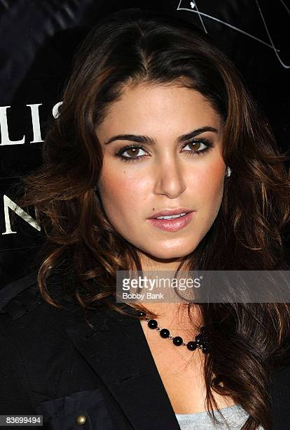 Nikki Reed attends the Twilight promotion at Hot Topic in the Garden State Plaza on November 14 2008 in Paramus New Jersey