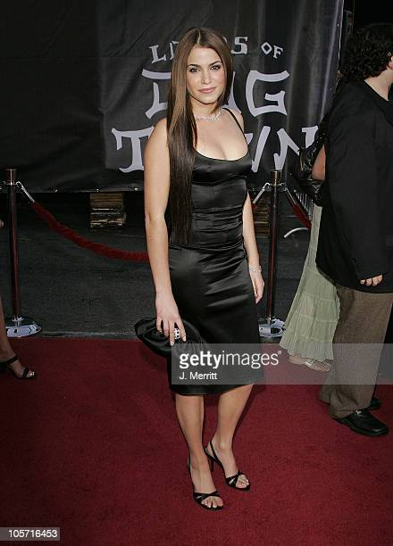 Nikki Reed during 'Lords of Dogtown' Los Angeles Premiere at Mann's Chinese Theater in Hollywood California United States