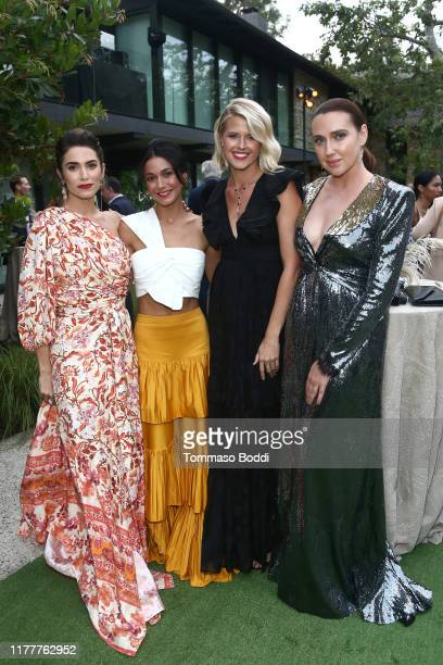 Nikki Reed Emmanuelle Chriqui Sarah Wright and Anna Schafer attend the Environmental Media Association 2nd Annual Honors Benefit Gala at Private...