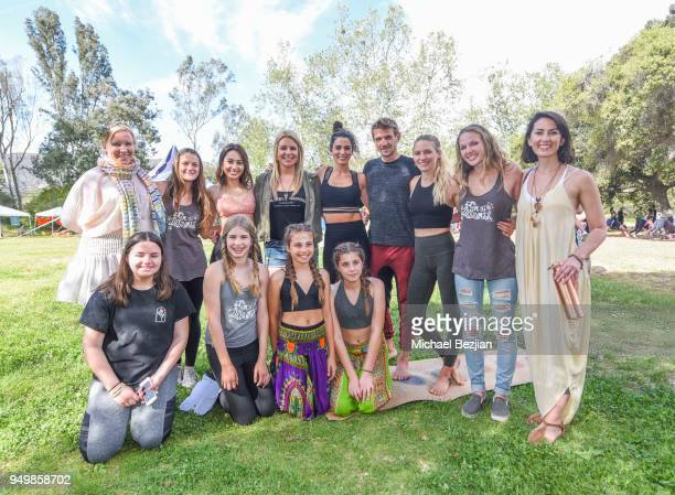 Nikki Reed Francia Raisa Nikki Reed Natalie Backman Carolyn Wakefield Nicholas Coolridge Dana Arnold and Imagine Fest Young Leaders attend Imagine...