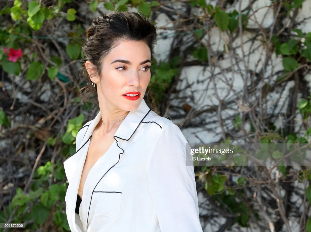 Nikki Reed is seen on February 20, 2018 in Los Angeles, California.