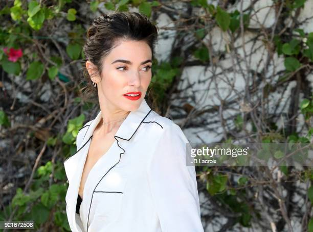 Nikki Reed is seen on February 20 2018 in Los Angeles California