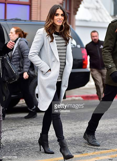Nikki Reed is seen on January 24 2015 in Park City Utah