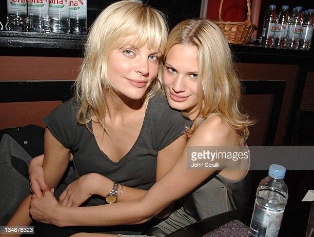 Nikki Renner and Vicky Andren during 2005 Cannes Film Festival Jana Water at Ivana Trump Party Inside in Cannes France