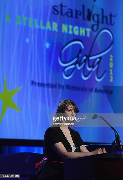 Nikki Riddle attends the Starlight Children's Foundation Annual A Stellar Night Gala held at The Beverly Hilton Hotel on May 17 2012 in Beverly Hills...