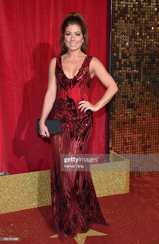 Nikki Sanderson arrives for the British Soap Awards 2016 at the Hackney Town Hall Assembly Rooms on May 28, 2016 in London, England.