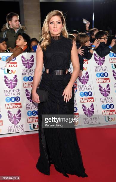 Nikki Sanderson attends the Pride Of Britain Awards at the Grosvenor House on October 30 2017 in London England