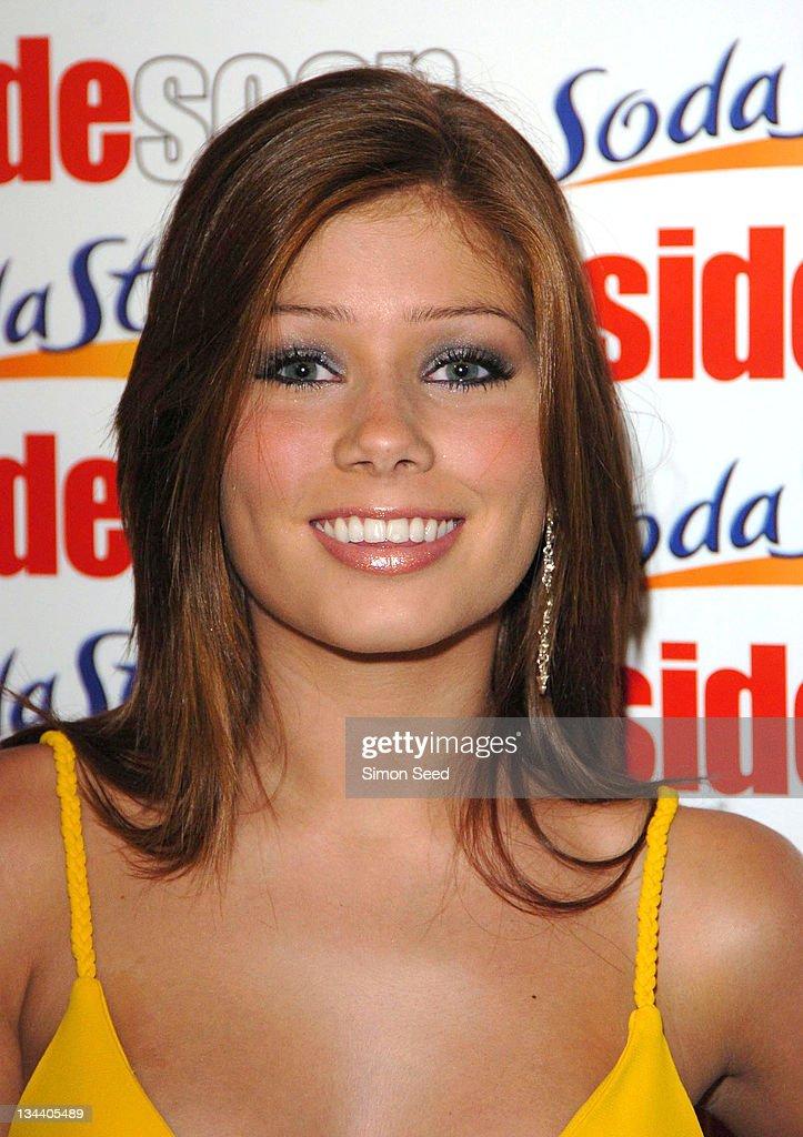Nikki Sanderson during 2004 Inside Soap Awards - Press Room at La Rascasse, Cafe Grand Prix in London, Great Britain.