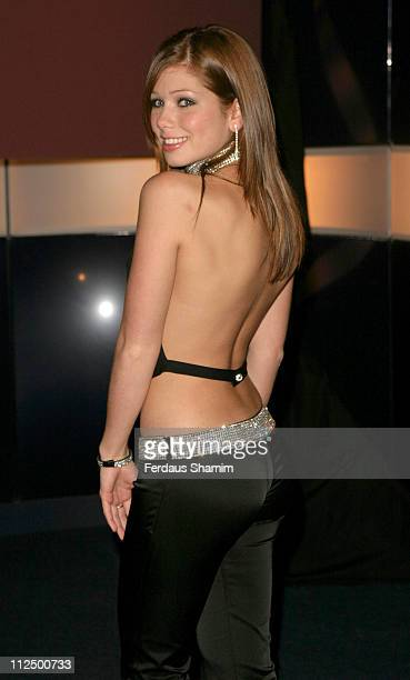 Nikki Sanderson during Hell's Kitchen II - Day 14 - Arrivals at Atlantis Building in London, Great Britain.