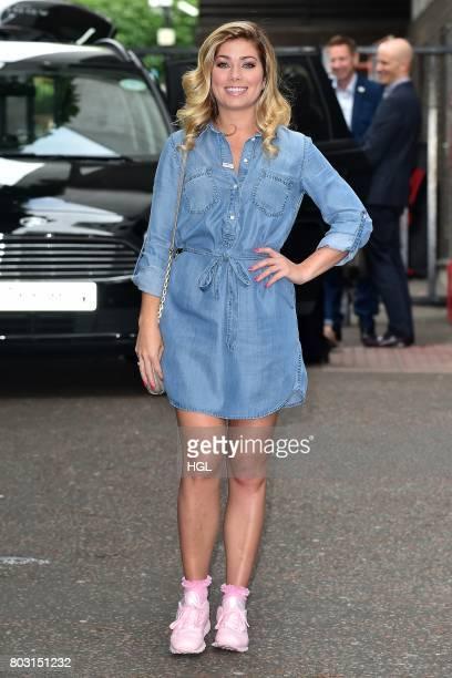 Nikki Sanderson seen at the ITV Studios on June 29 2017 in London England