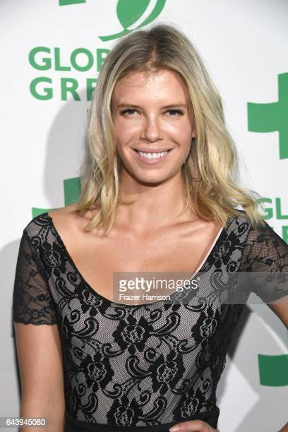 Nikki Sharp attends the 14th Annual Global Green Pre Oscar Party at TAO Hollywood on February 22 2017 in Los Angeles California