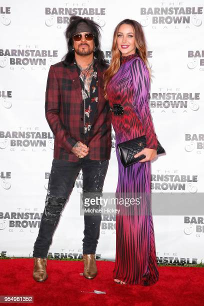 Nikki Sixx and Courtney Bingham appear at the Barnstable Brown Gala on May 4 2018 in Louisville Kentucky