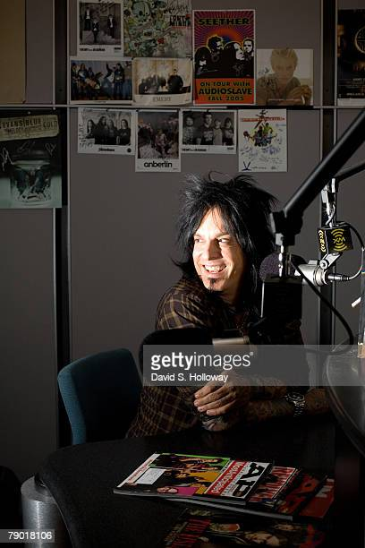 Nikki Sixx bassist for Motley Crue and former heroin junkie speaks on XM Radio about his book The Heroin Diaries his other current projects on...