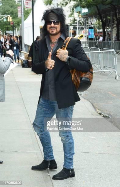 Nikki Sixx is seen on September 24 2019 in New York City