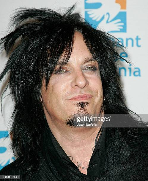 Nikki Sixx of Motley Crue attends Covenant House California's 9th Annual Awards Gala at the Beverly Hilton on May 9 In Beverly Hills California