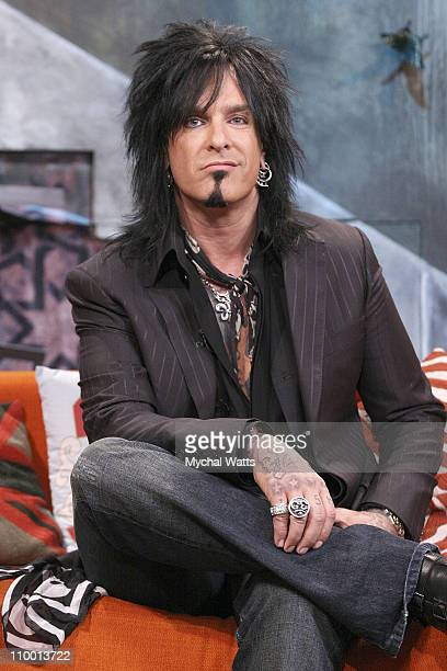 Nikki Sixx visit fuse's The Sauce at fuse Studios September 24 2007 in New York City