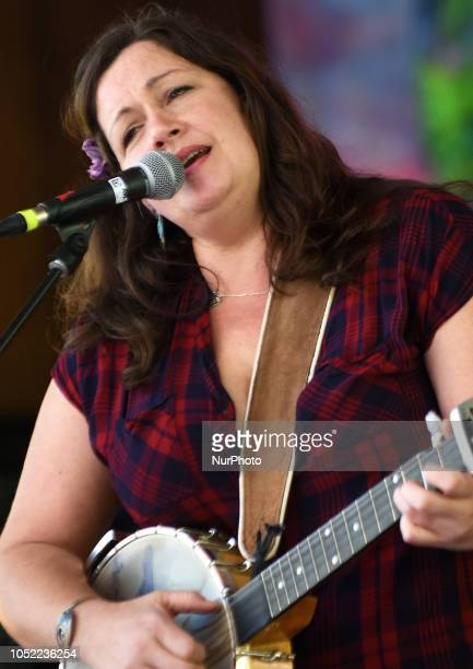 Nikki Talley performs at the Suwannee Roots Revival music festival on October 13 2018 at the Spirit of the Suwannee Music Park in Live Oak Florida