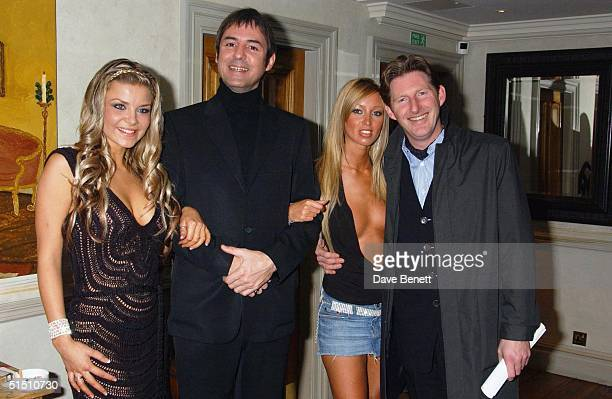 Nikki Theobald Neil Morrissey Lauren Pope and Adrian Dunbar attend the UK Premiere of 'Triggermen' at the Charlotte Street Hotel on December 9 2003...