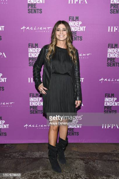 """Nikki Toscano at Film Independent Screening Series Presents """"Hunters"""" at ArcLight Culver City on February 20, 2020 in Culver City, California."""