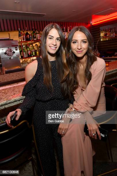 Nikki Weissman and Something Navy Blogger Arielle Charnas attend the Fossil Firsts Dinner Hosted By Something Navy at 33 Greenwich on May 11 2017 in...