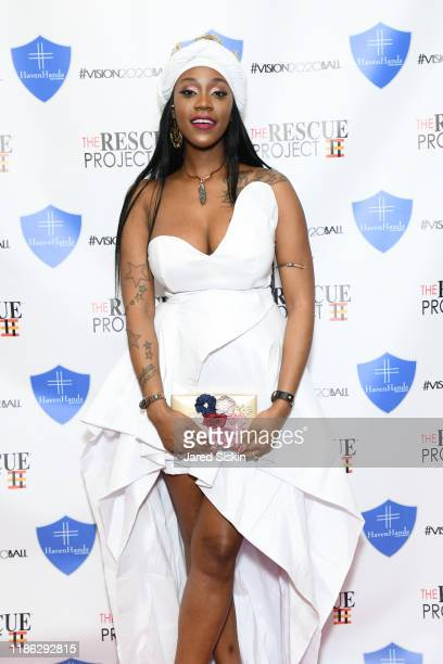 Nikki Woods attends The 3rd Annual Vision 2020 Ball By The Rescue Project Haven Hands Inc Brought To You By AMAZZZING HUMANS at 4W43 on November 07...